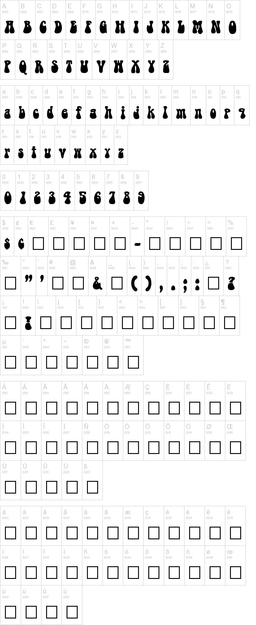Bell Bottom Laser Font Dafont Com