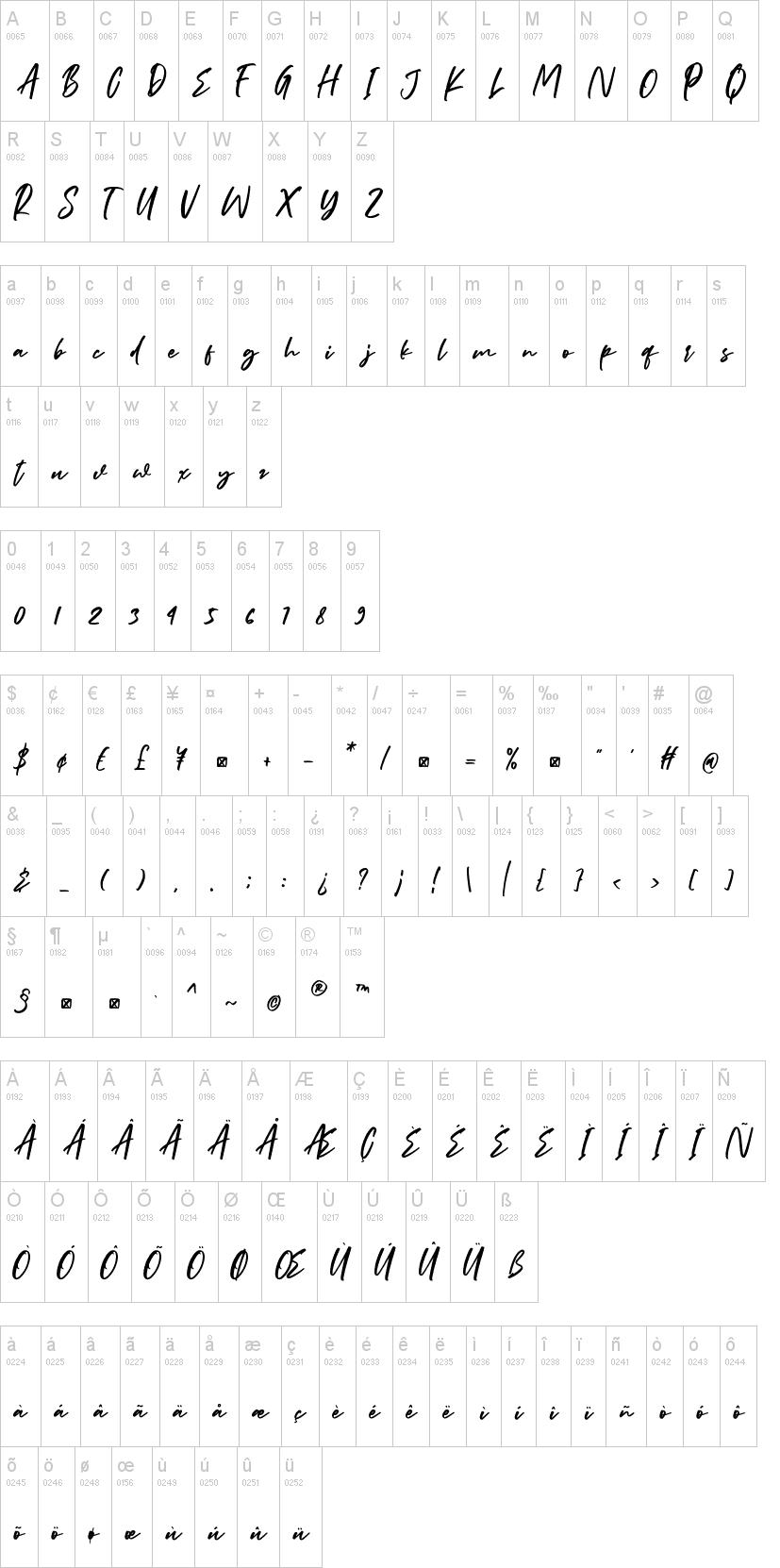 Billybond Font