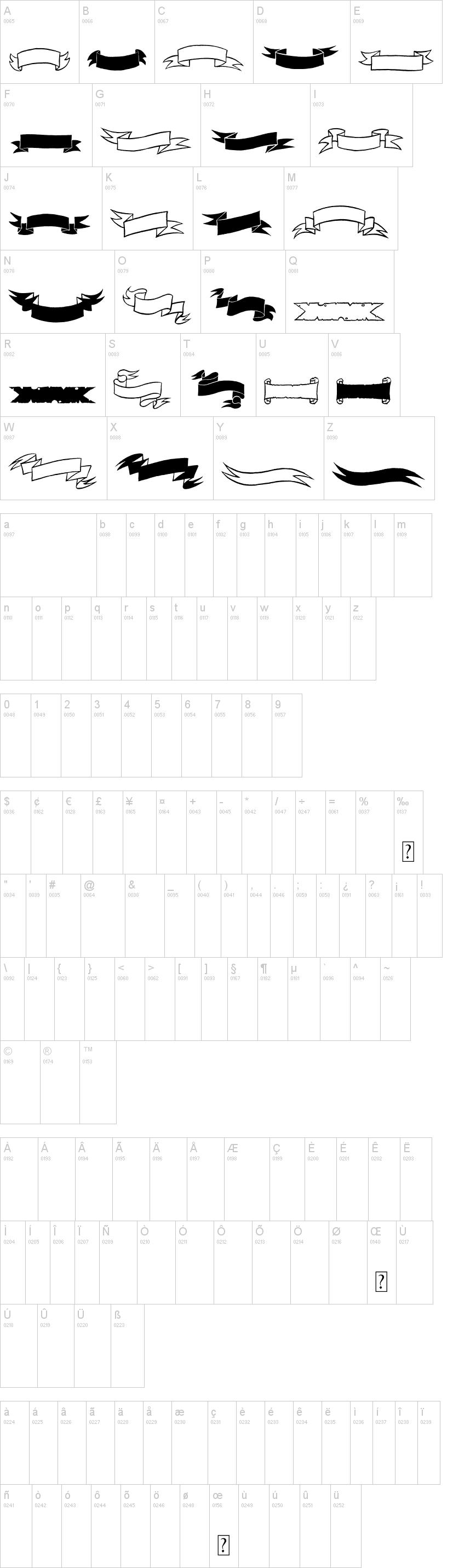 how to make black banner