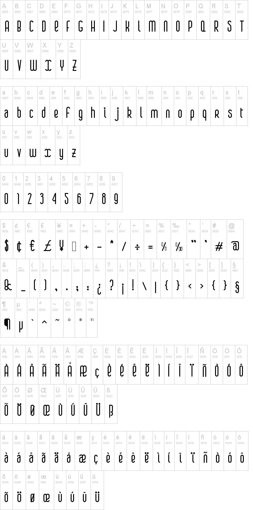 Boa Font | dafont com