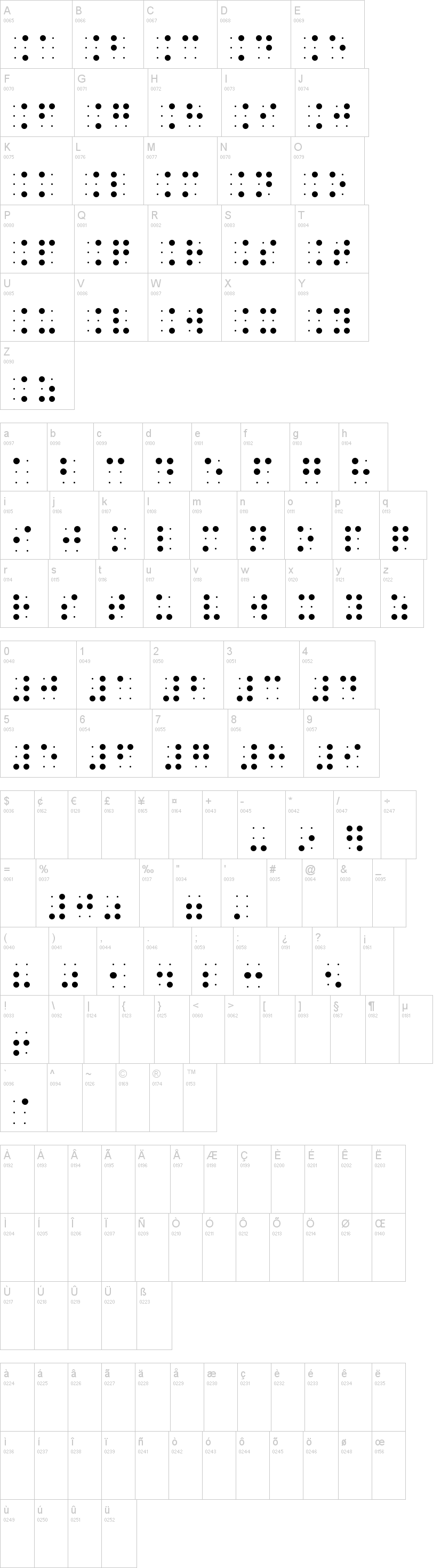 BrailleSlo 6Dot