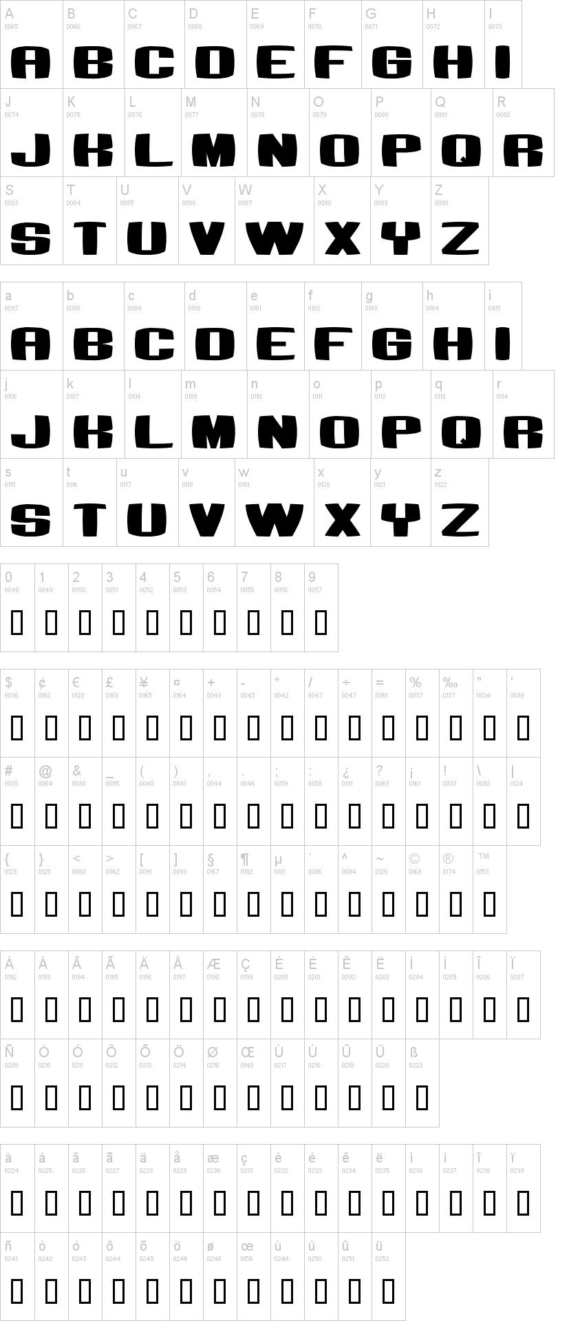bumbastika font