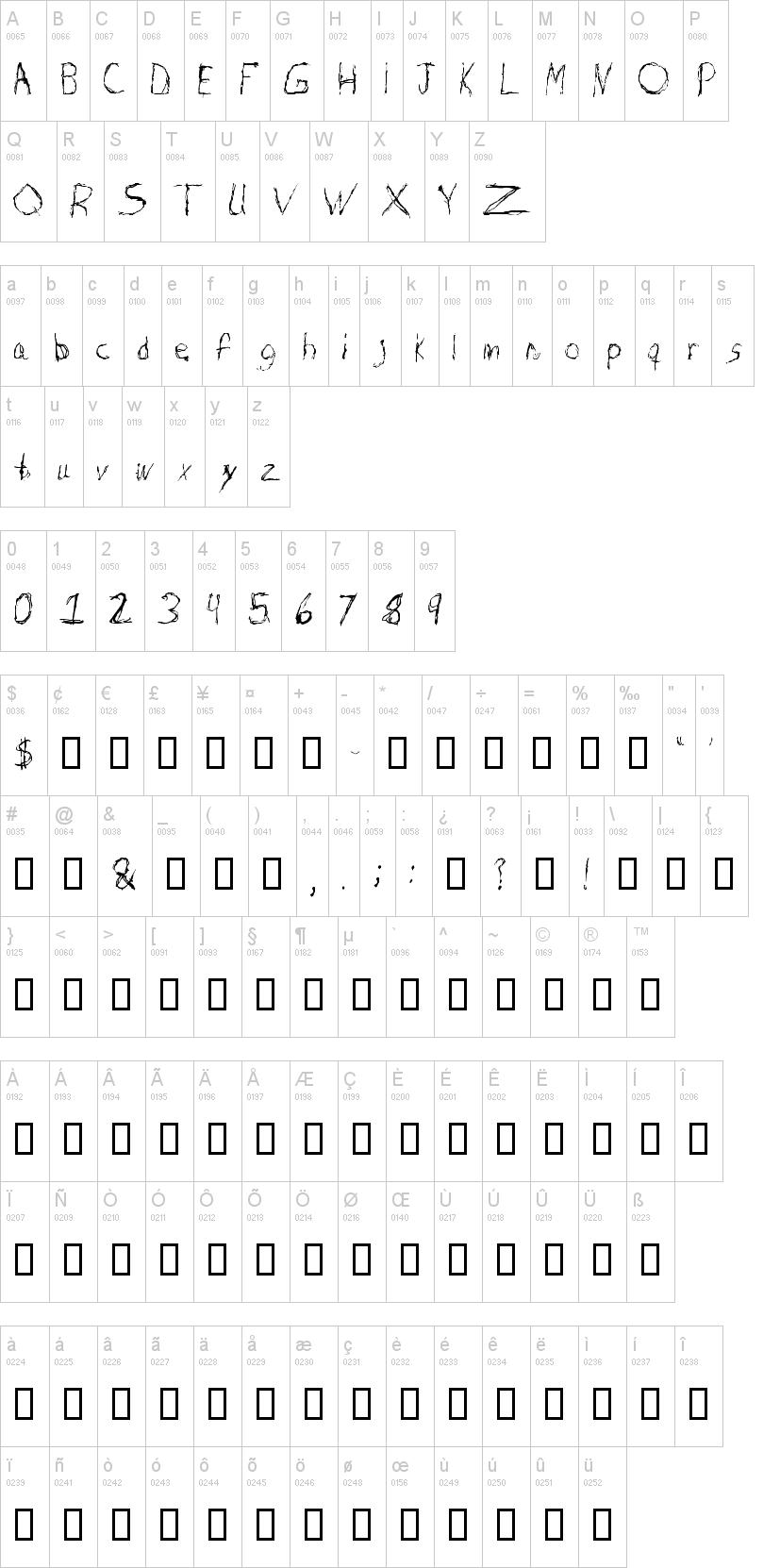 Burton Scratch Font | dafont com