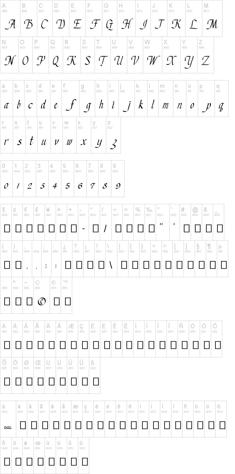chancery cursive font | dafont