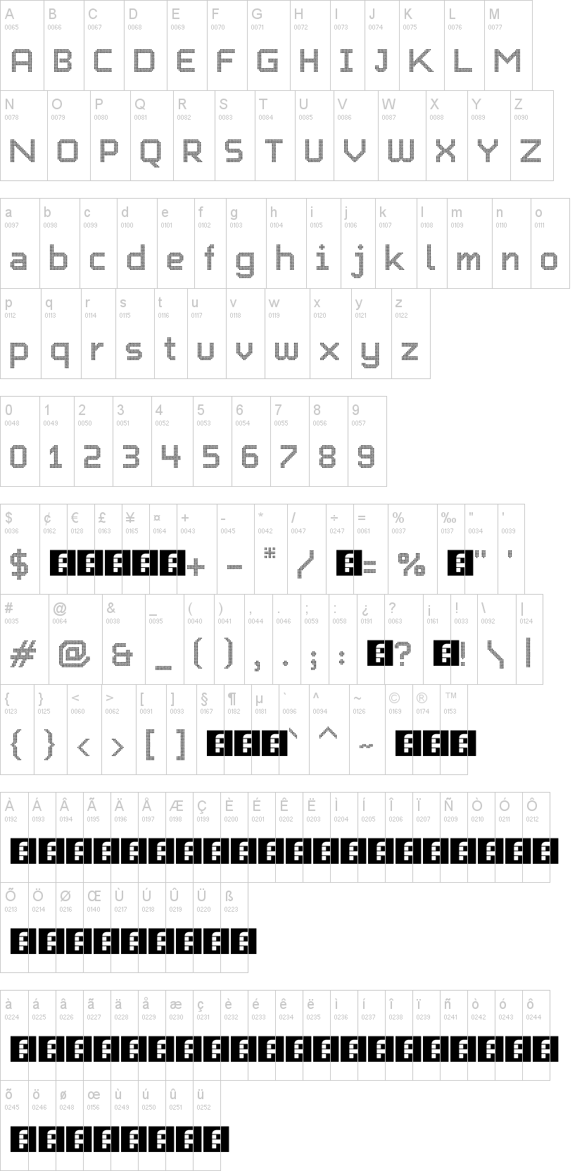 Charlie Dotted Font | dafont com