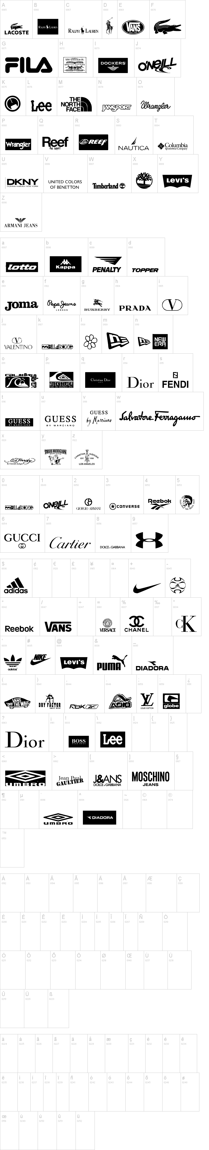 Clothing Logos TFB
