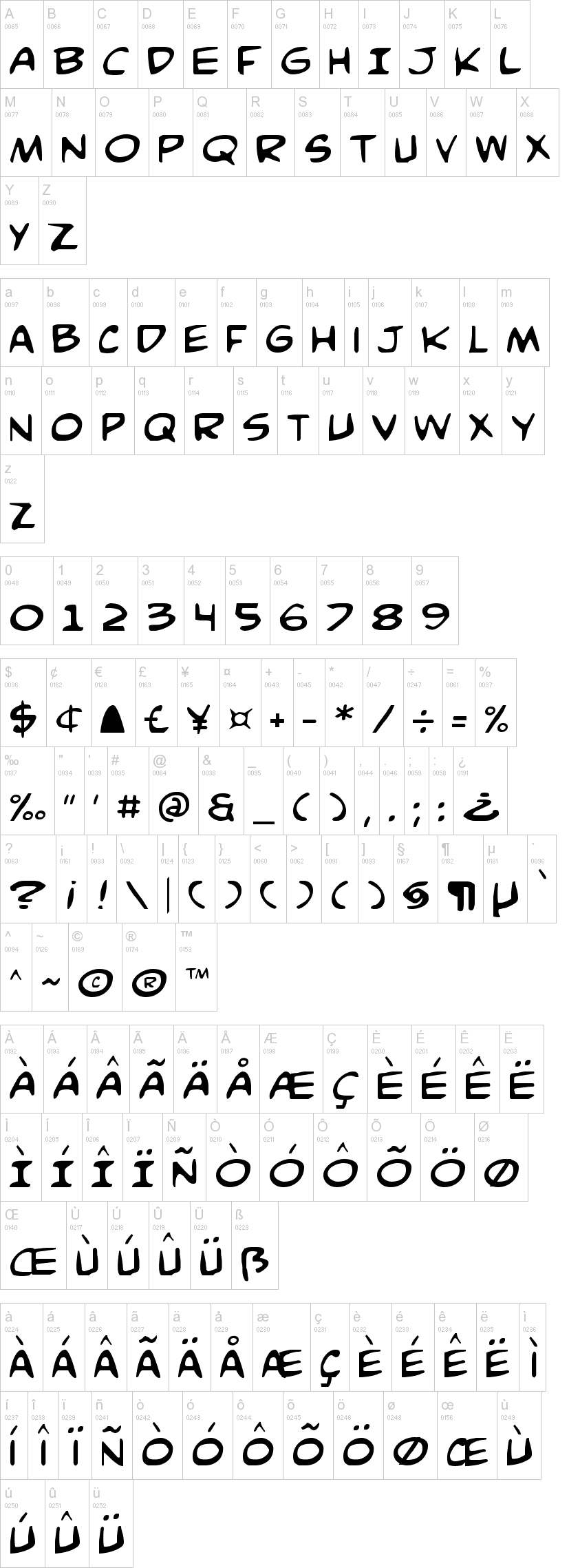 Comic Book Commando Font