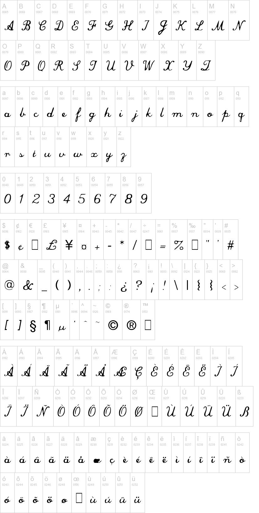 Commercial Script Font   dafont com