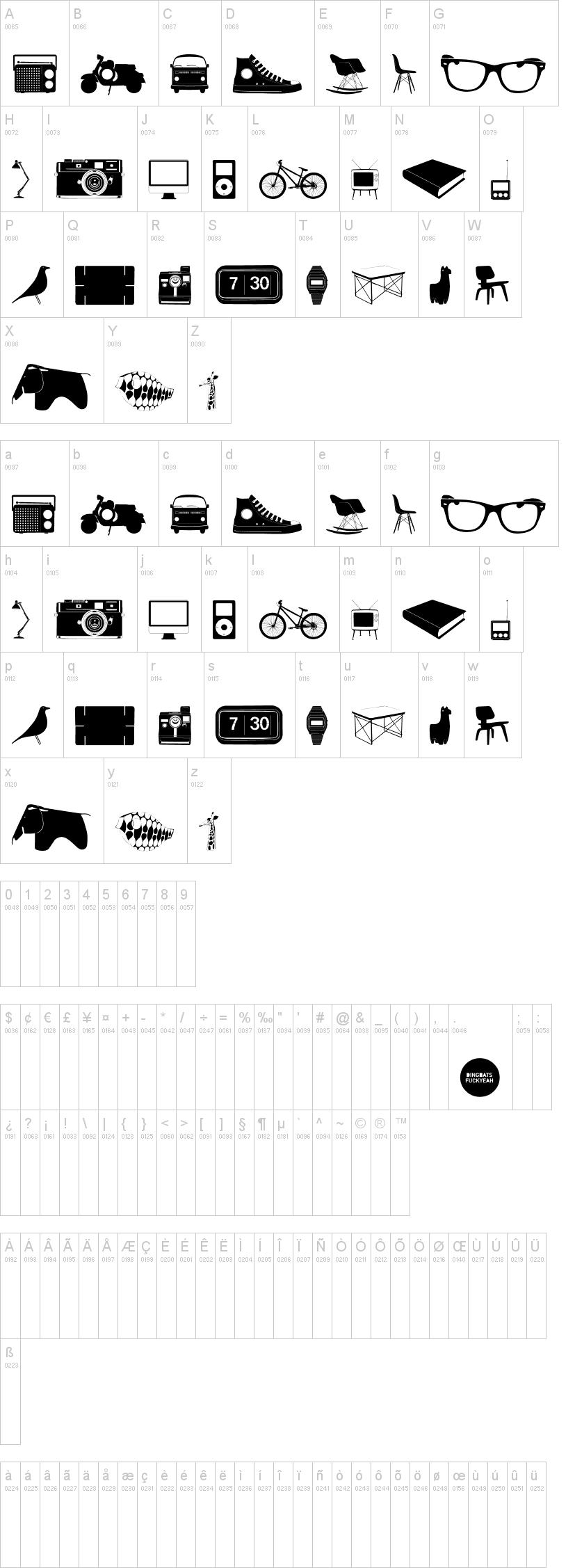Cool stuff font for Coool stuff com