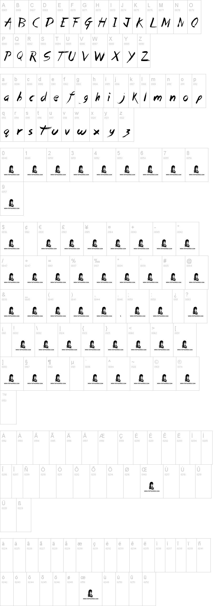 Chalkduster Font - free fonts download