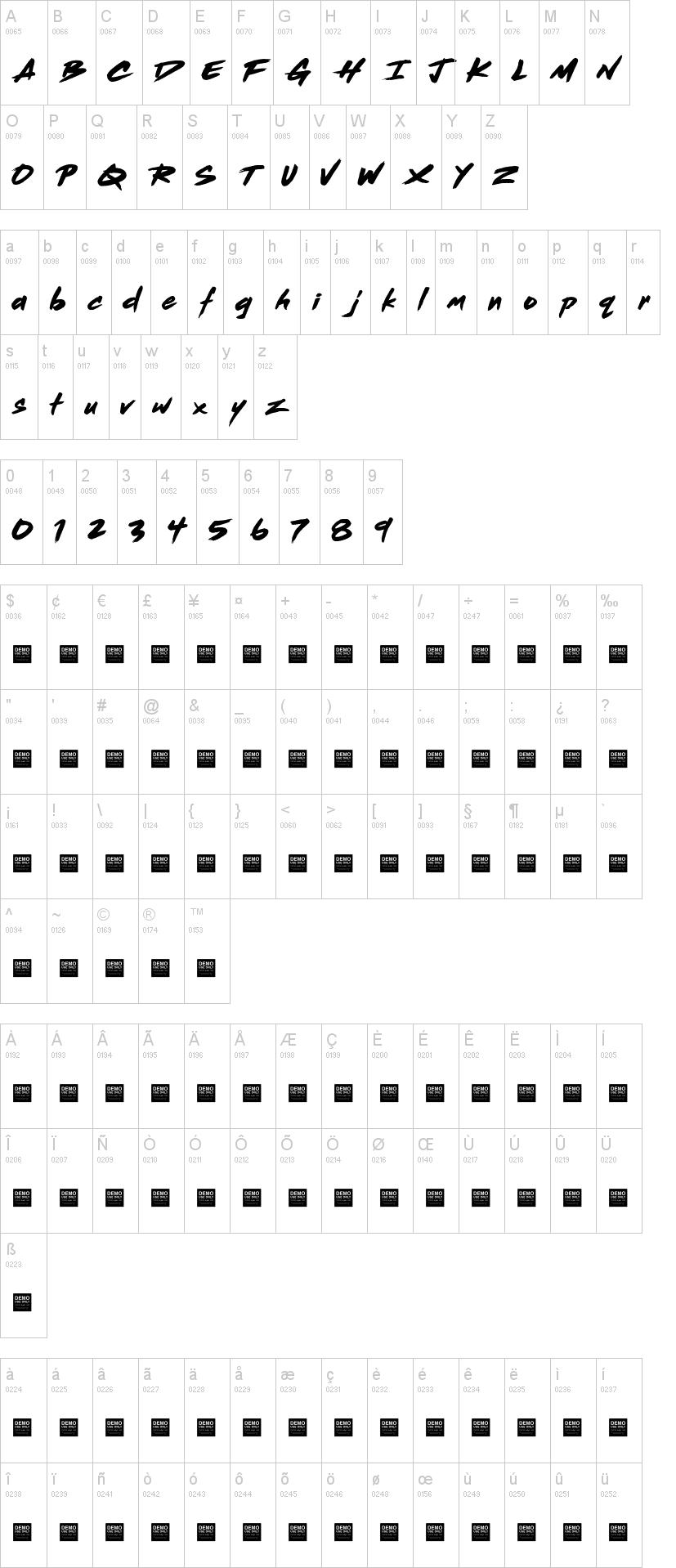 Dead Stock Font