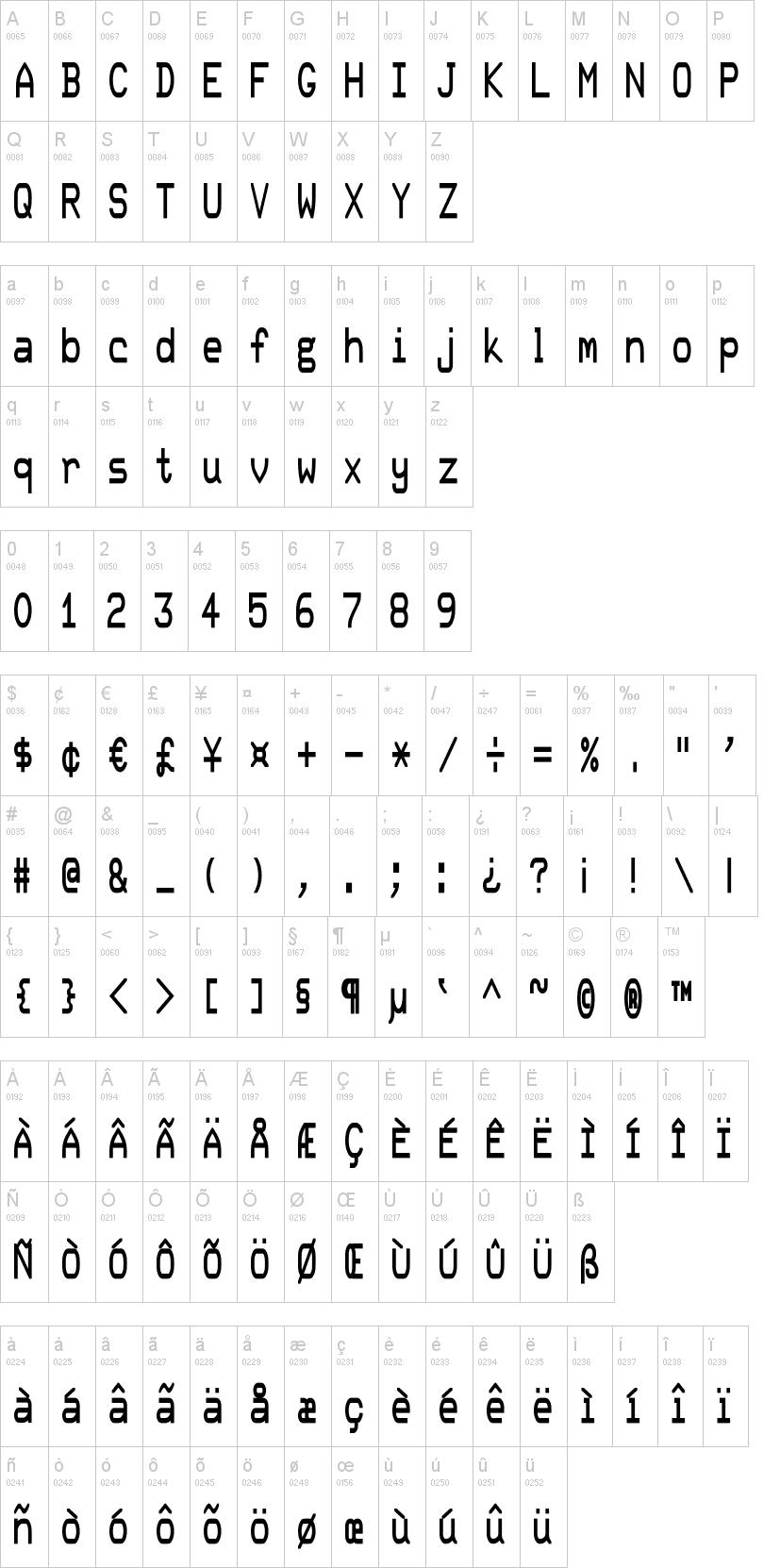 DEC Terminal Modern Font | dafont com