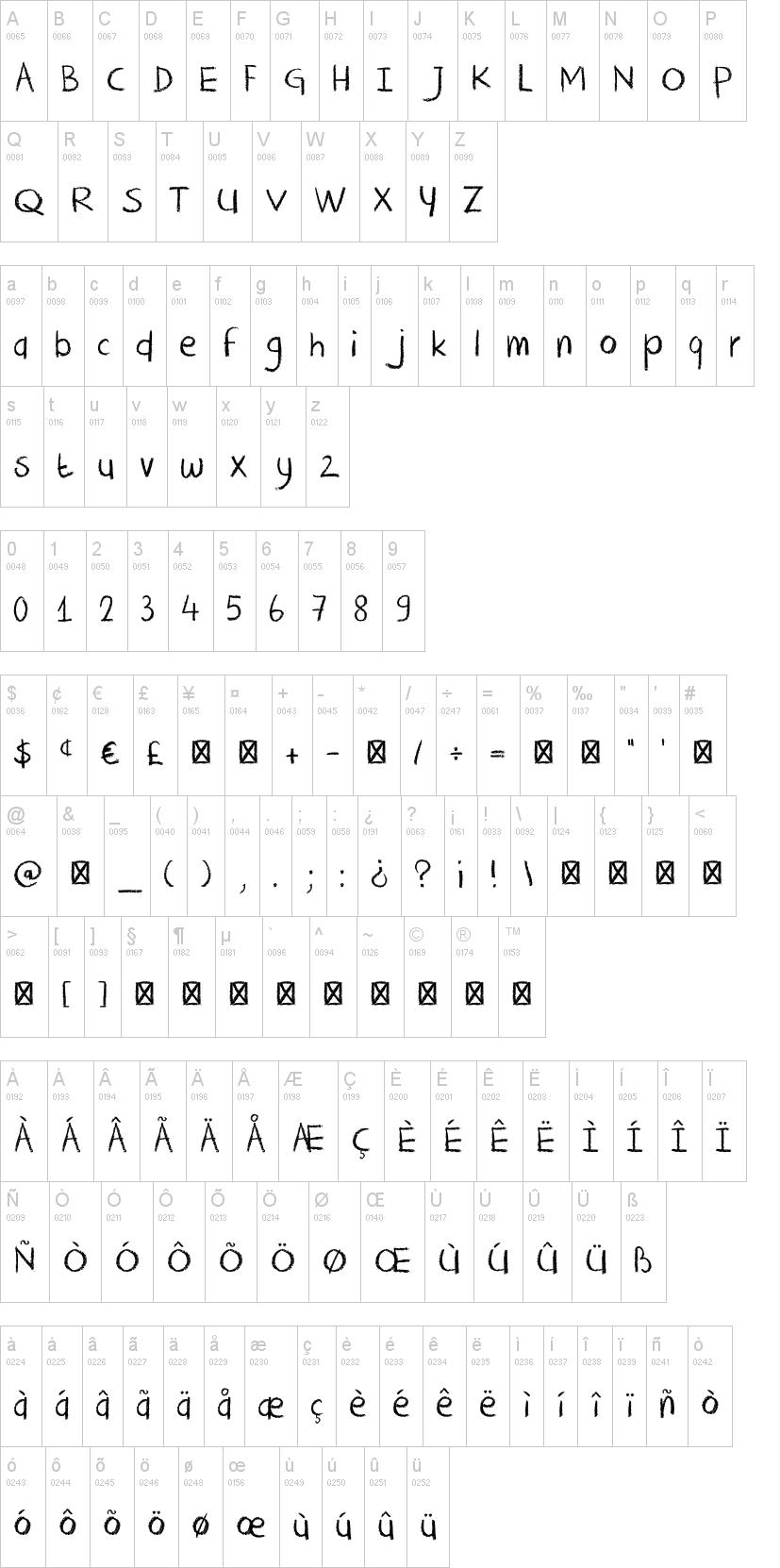 dk crayon crumble font dafont com