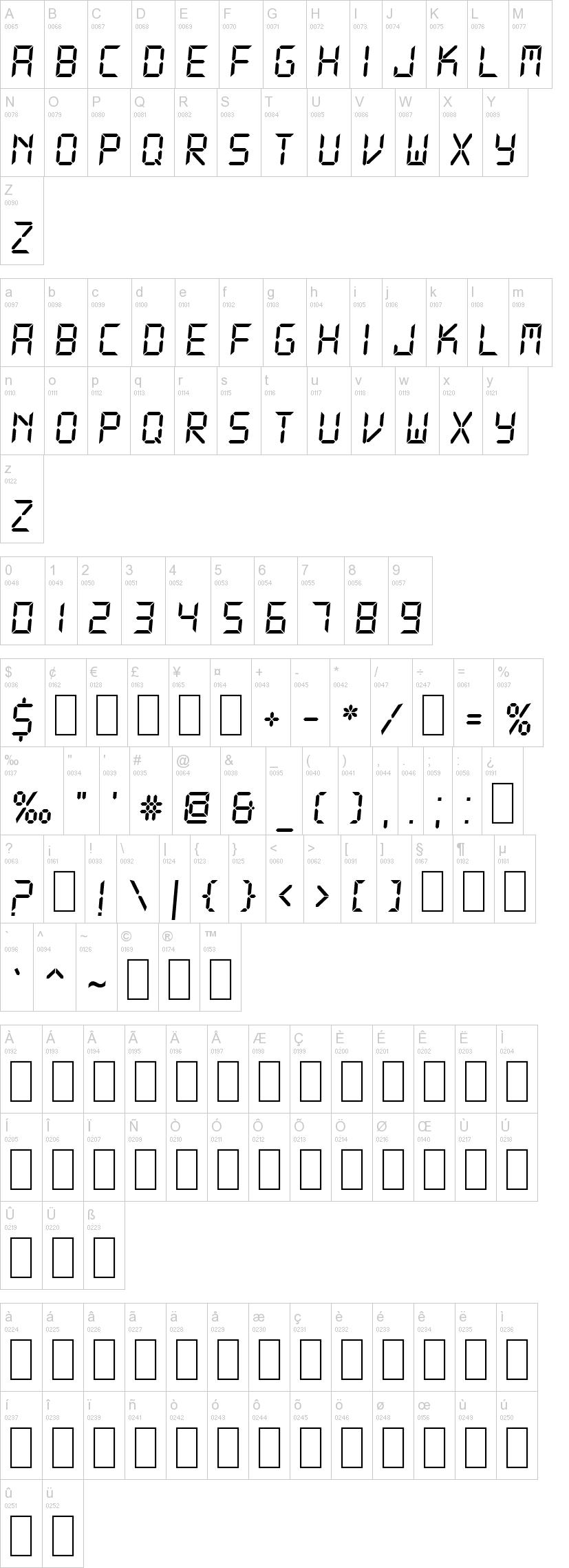DS-Digital Font | dafont com