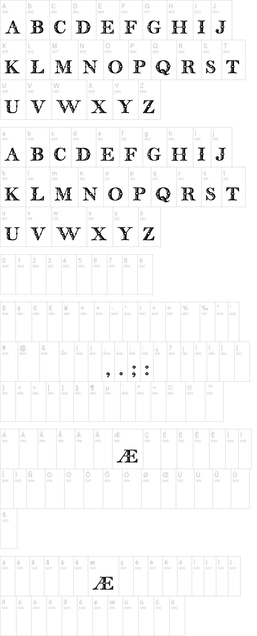 English Two Line Tfb Font Dafontcom