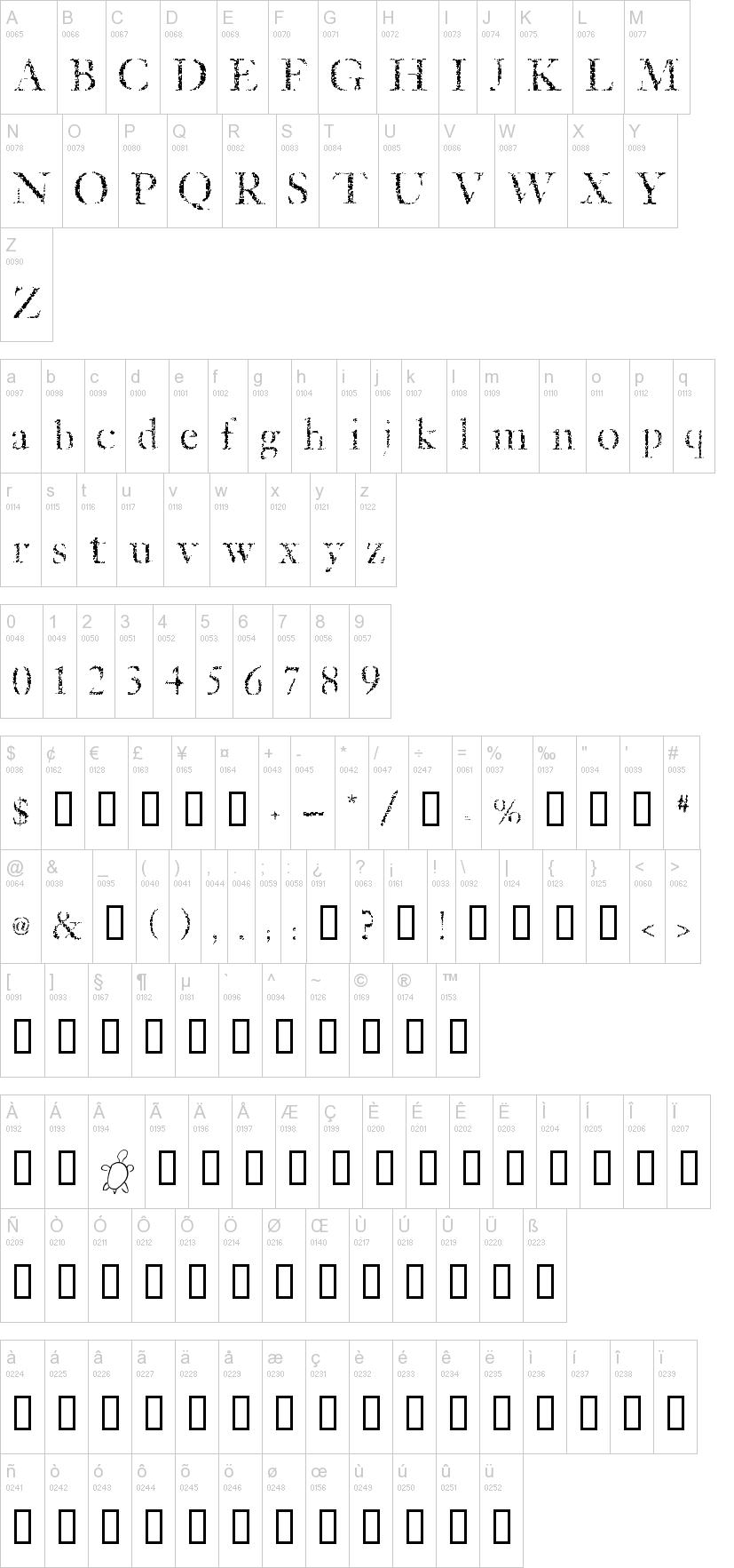 Etched Font | dafont com