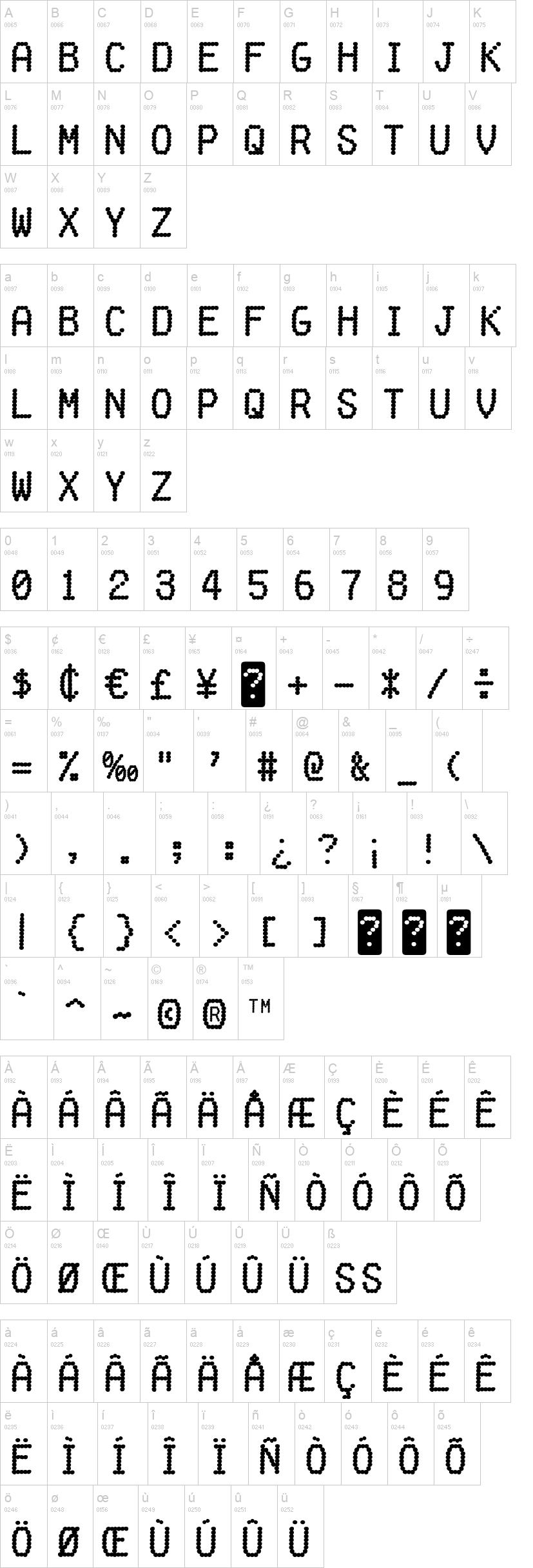 Fake Receipt Font – Receipt