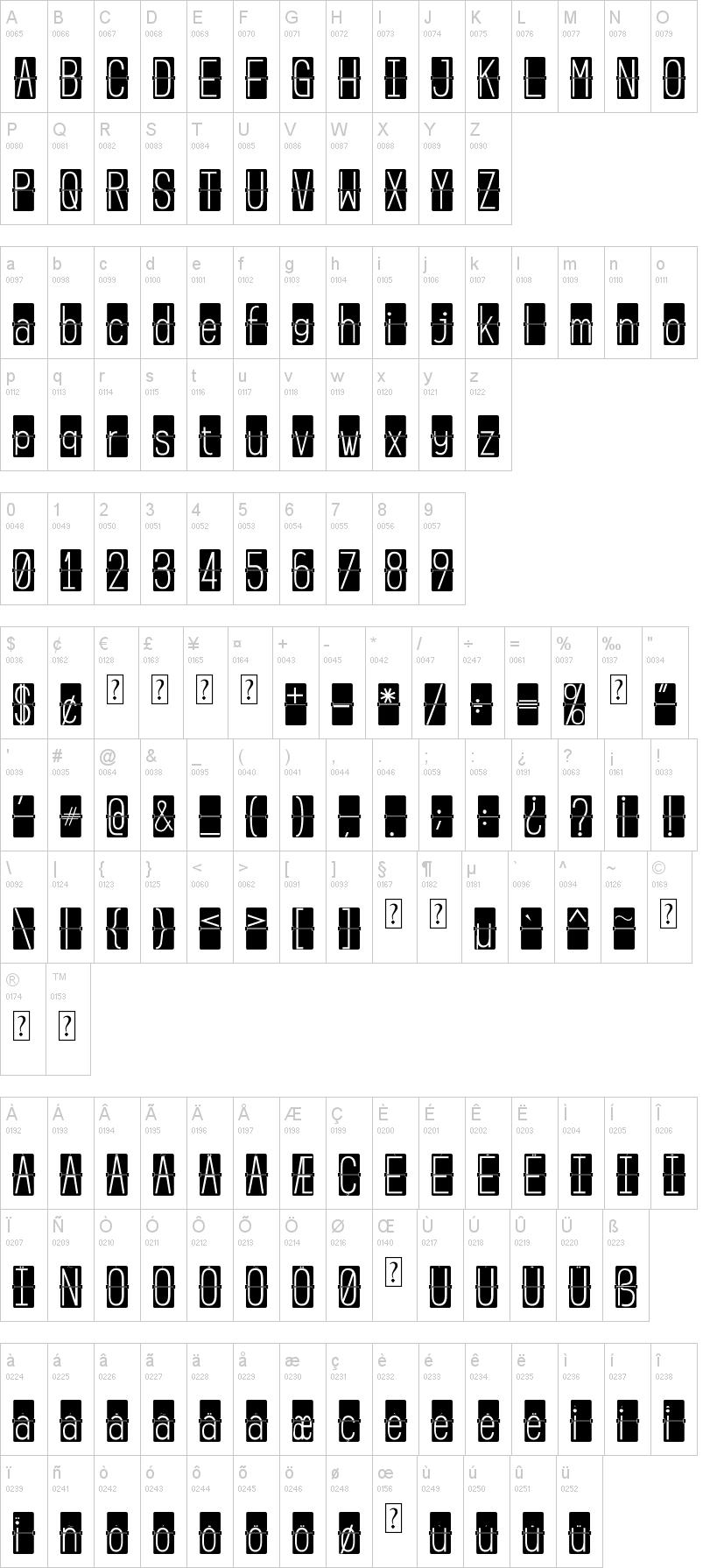 Flip Clock Font | dafont com