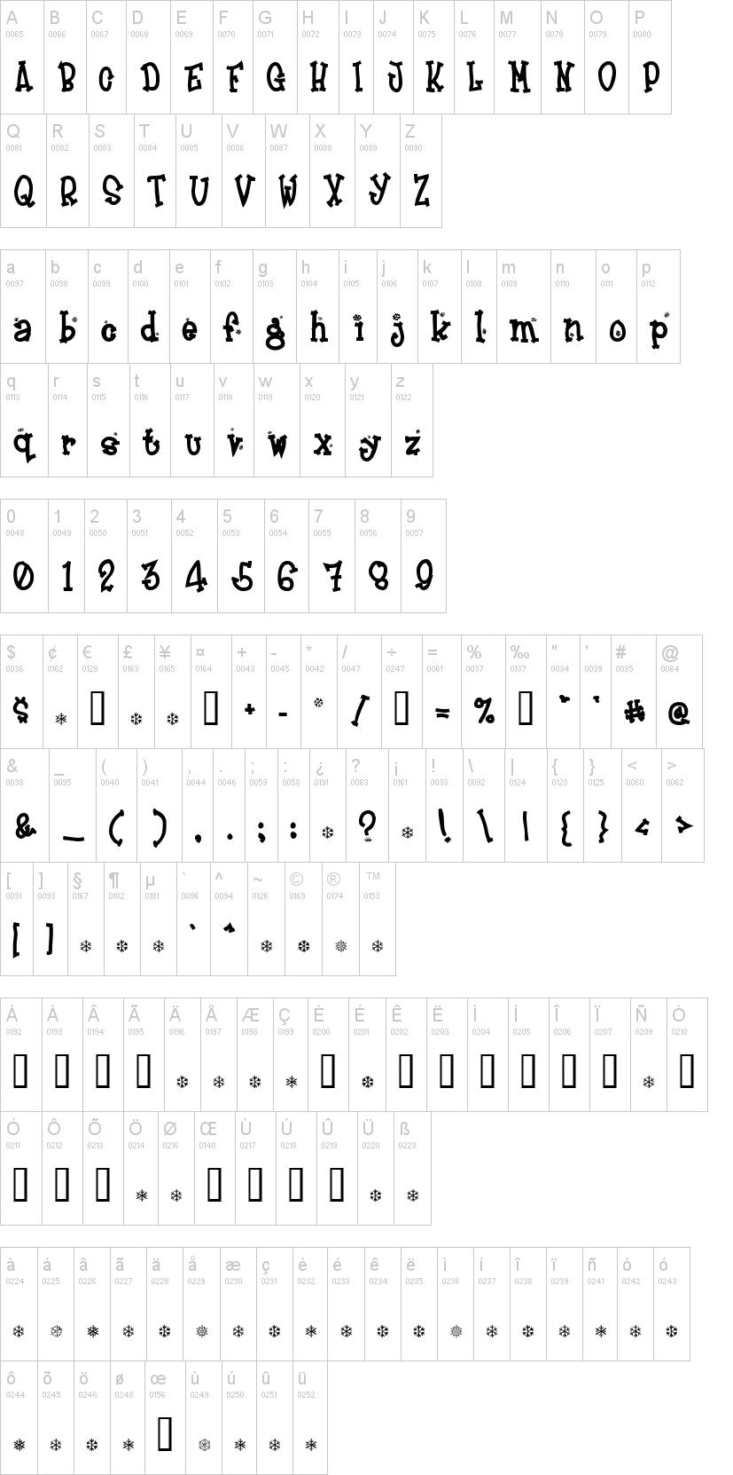 Frosty Font | dafont.com
