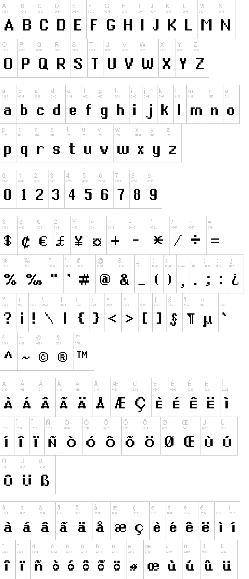 Generic Mobile System Font | dafont com