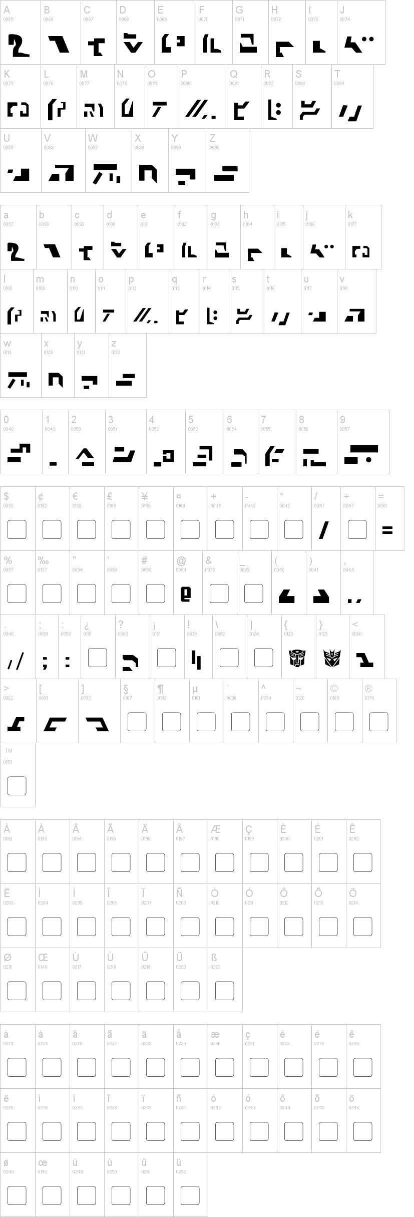Giedi ancient autobot font dafont biocorpaavc Choice Image