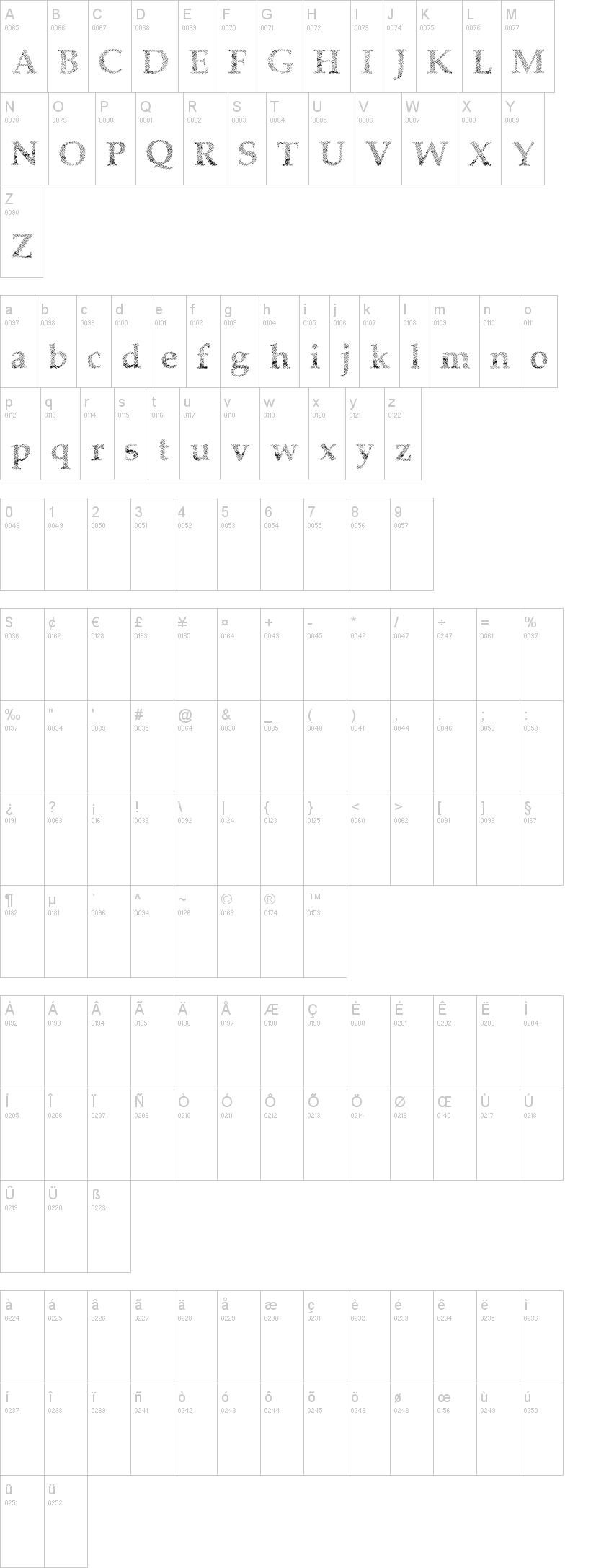Half Faded Font | dafont com