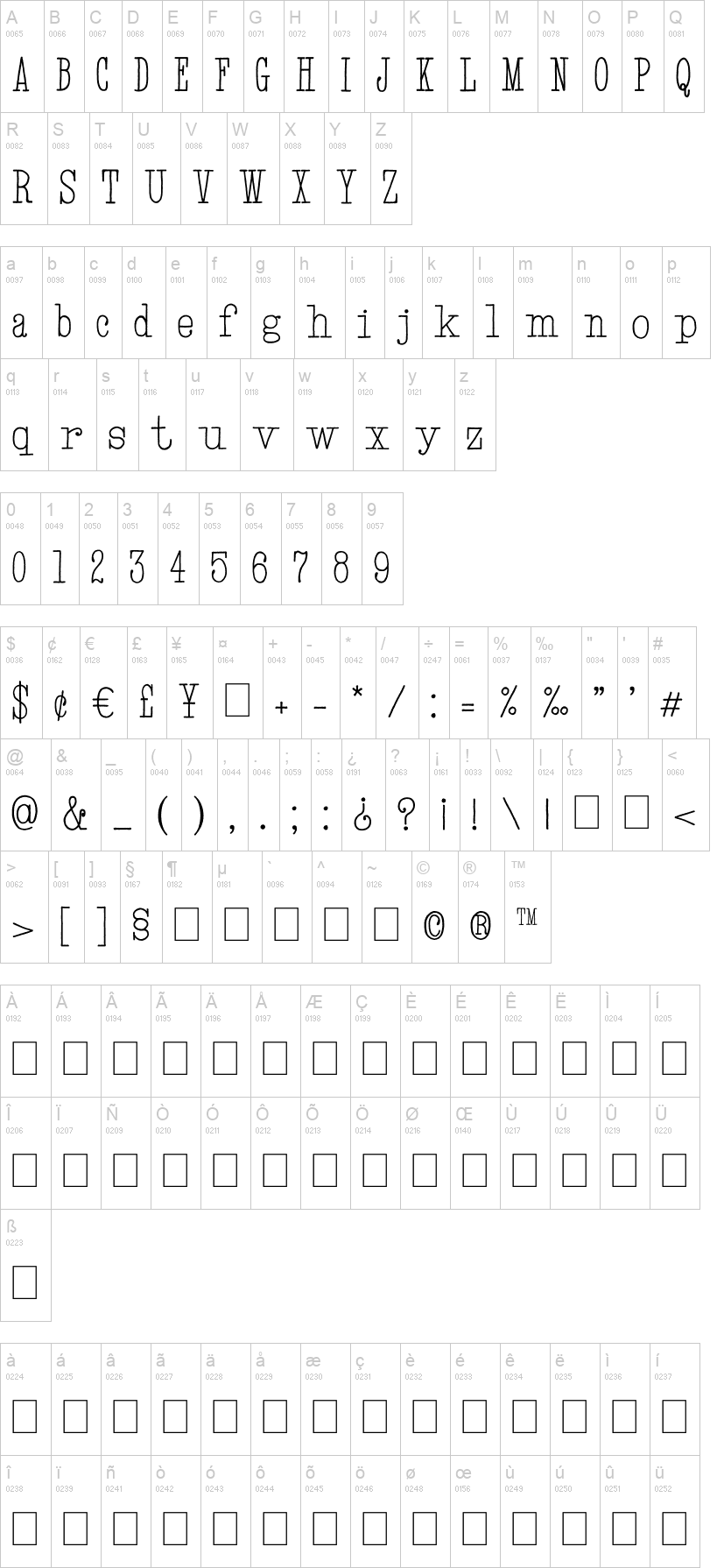 Hand TypeWriter Font | dafont com