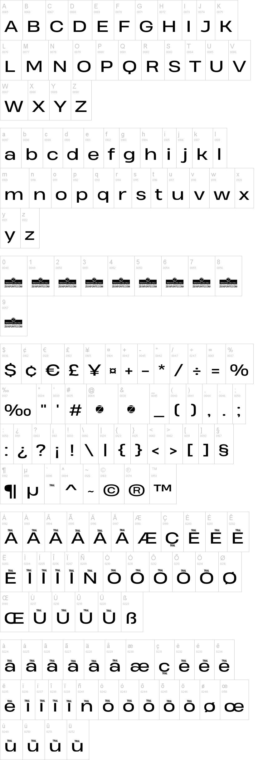 Heading Pro Wide Font