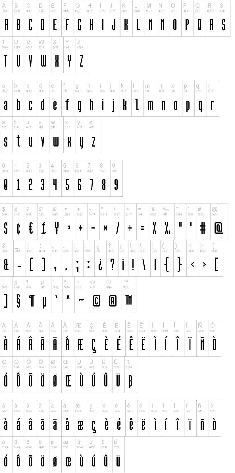 High Sans Serif 7 Font | dafont com