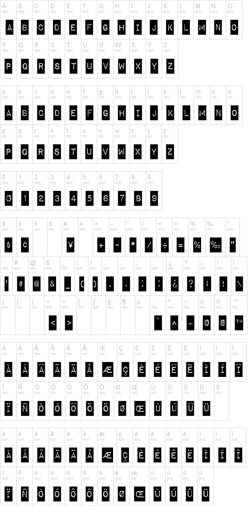 Impact Label Font  DafontCom