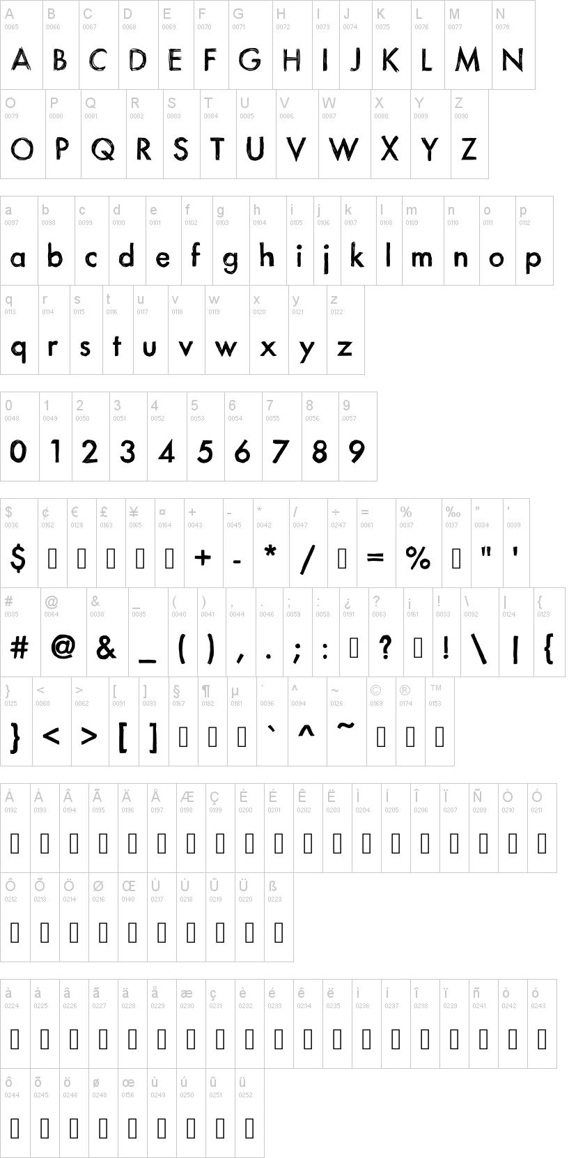 itsa sketch font
