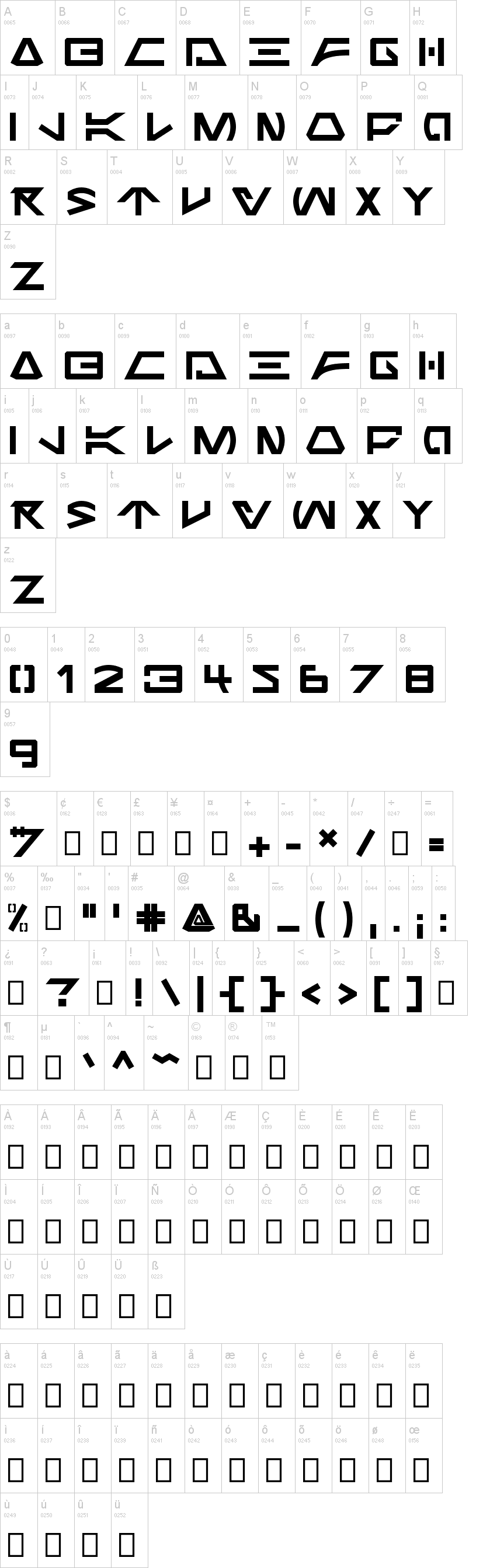 Jabba the Font