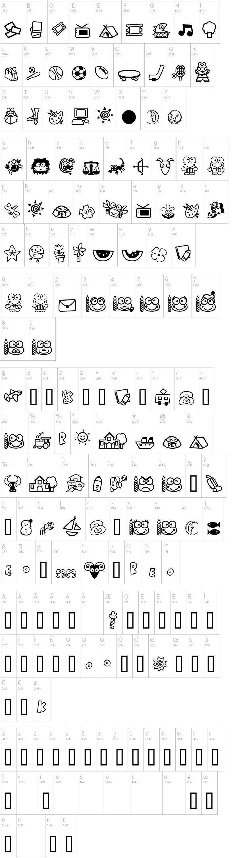 Keroppi Font | dafont com