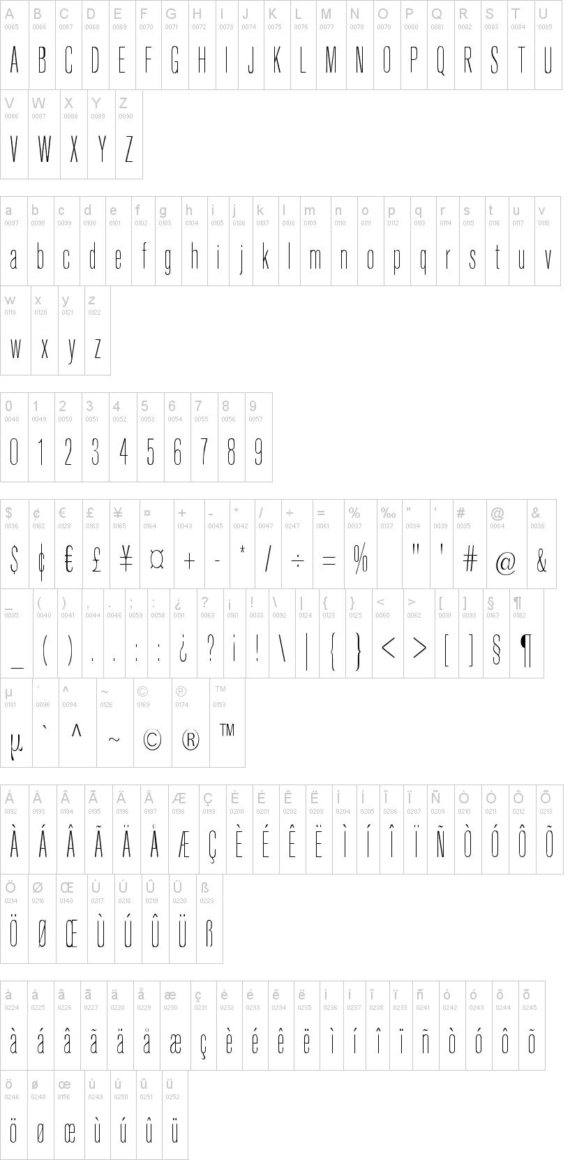 keytin regular font