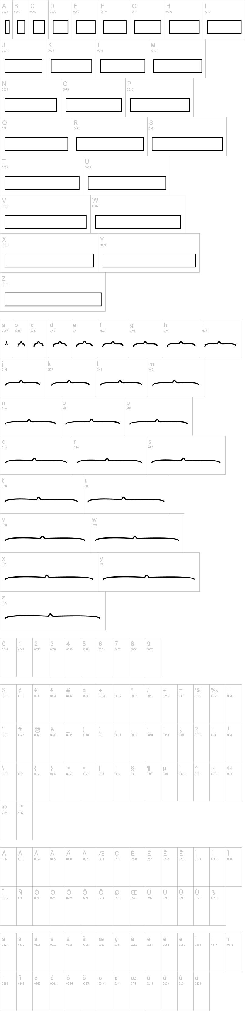 KG Math Bar Models Font | dafont.com