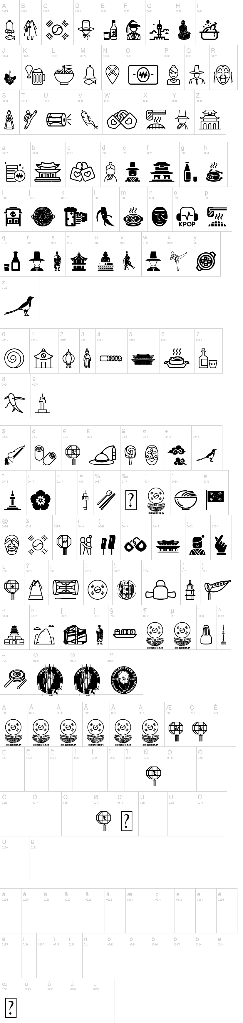 Korean Icons