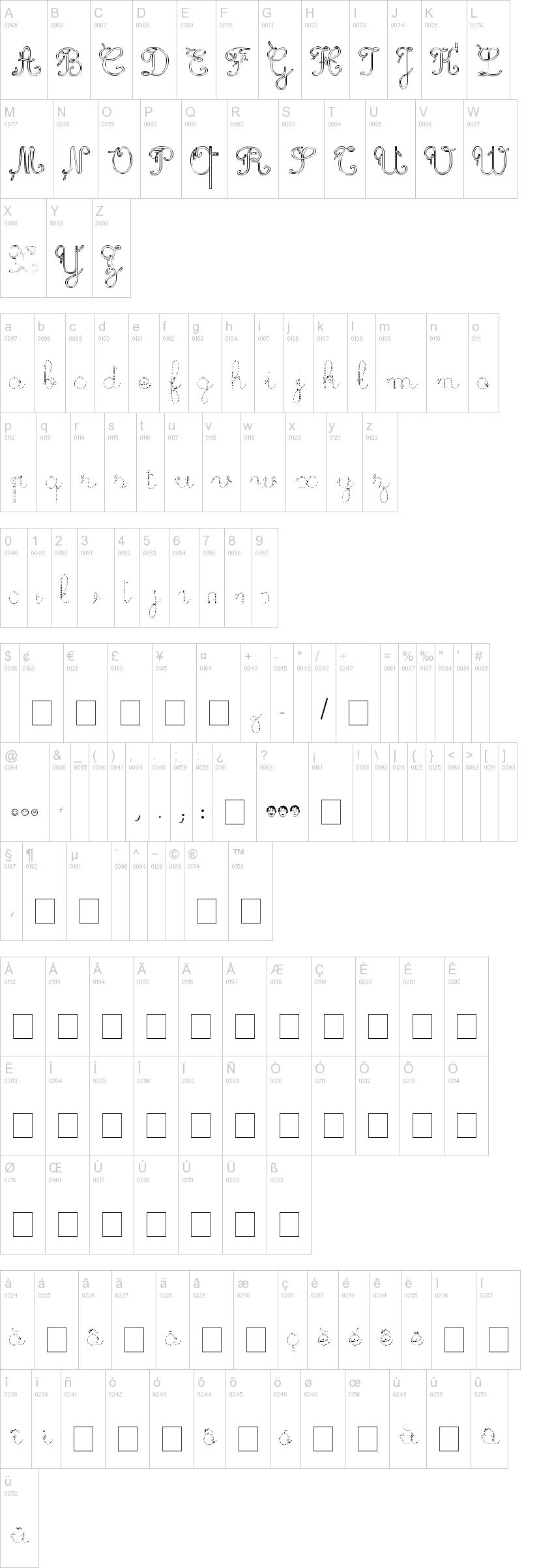 Trace Cursive Font Maternellecolor Trace Cursive
