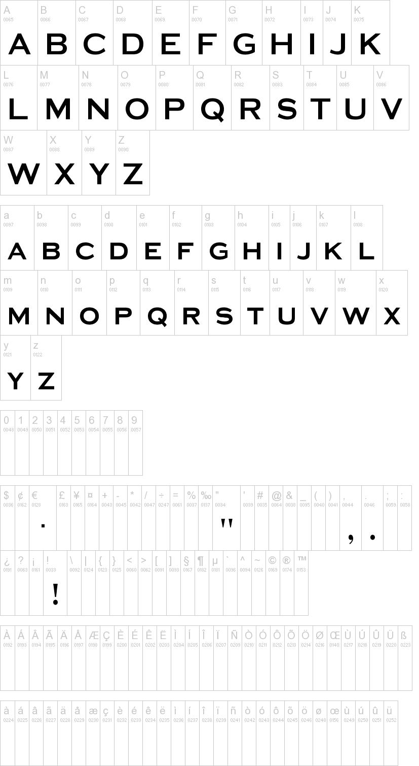 Media Gothic Font   dafont.com