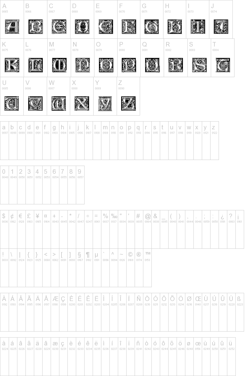 Medieval Victoriana Font | dafont com