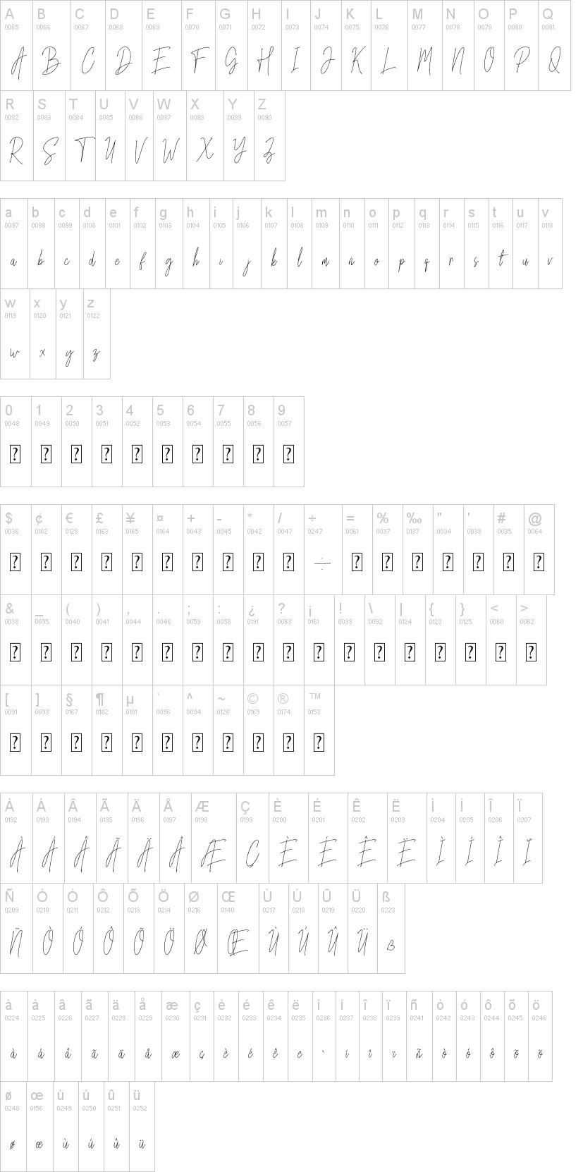 Mettallion Signature Font