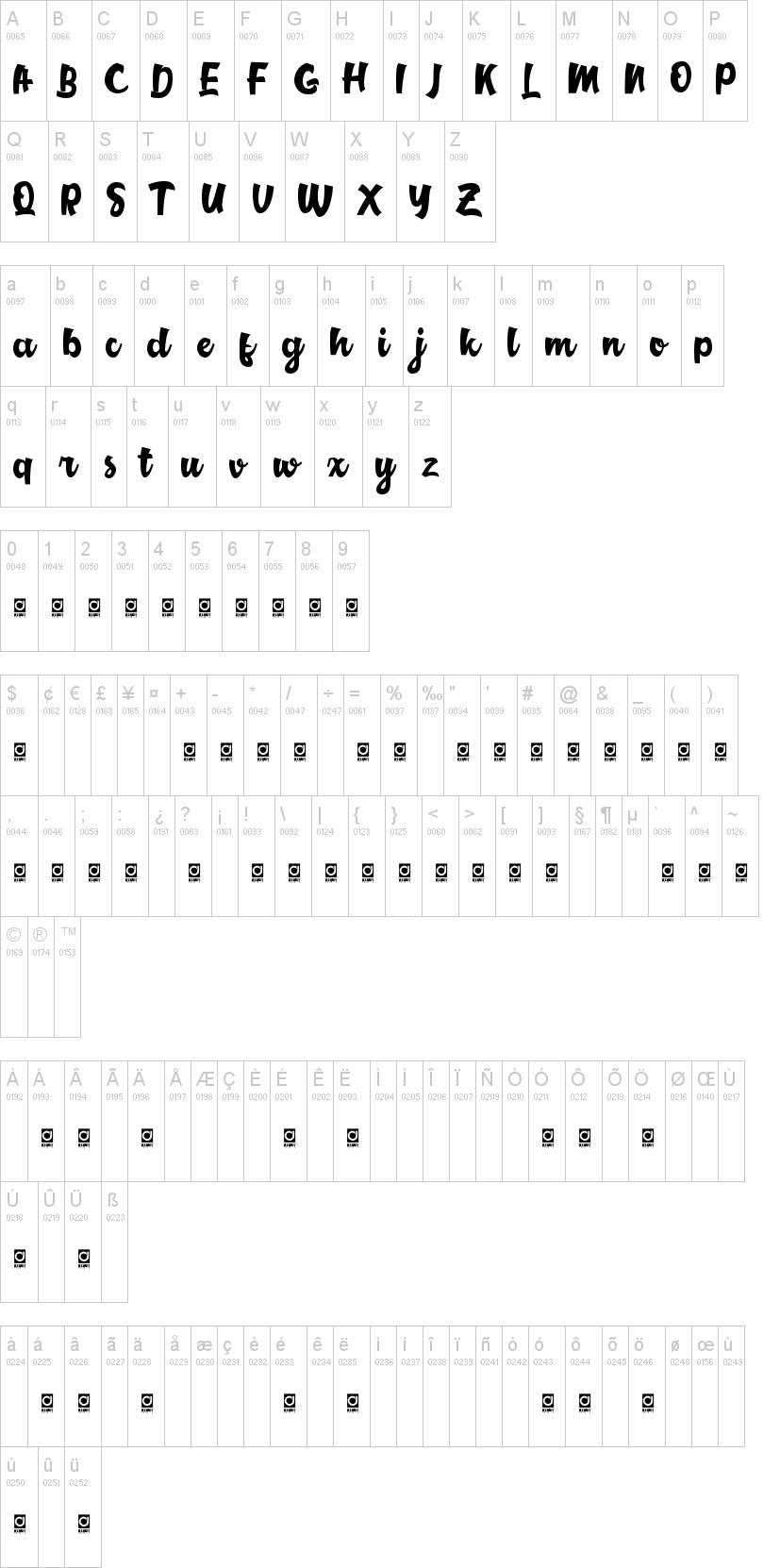Middle Class Script Font