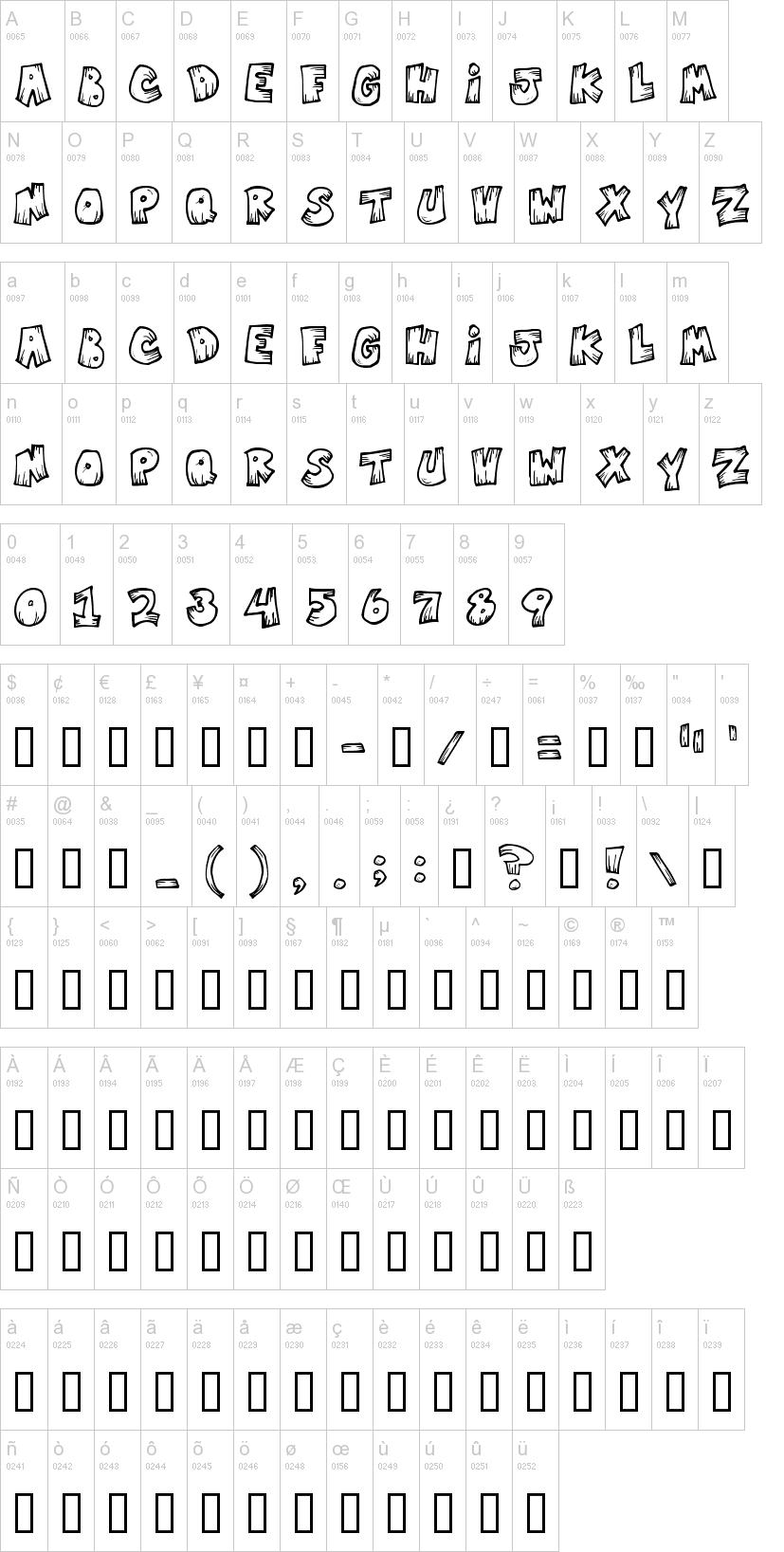 Font vampire Text Fonts