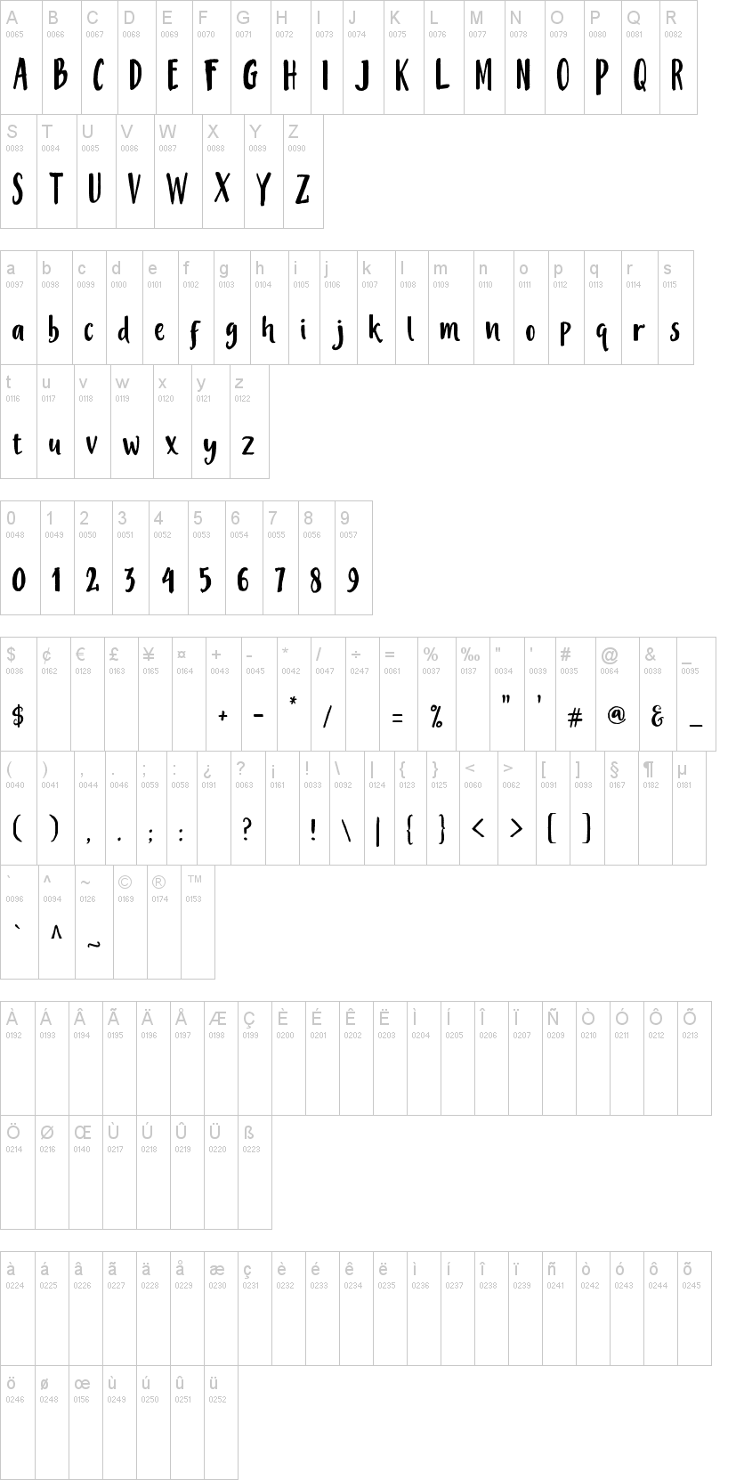 Mistery Font