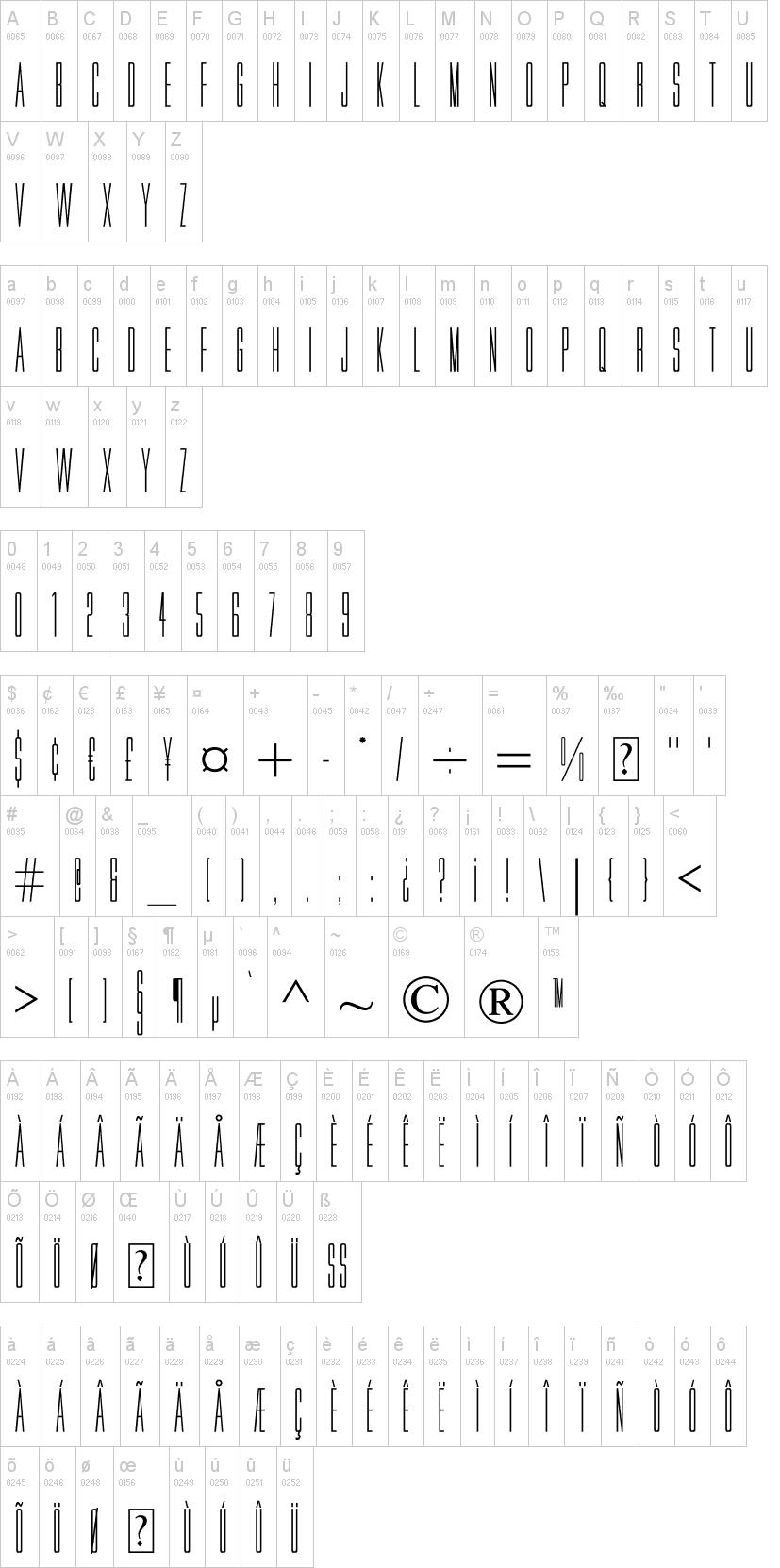 Movie Letters Font | Dafont.Com