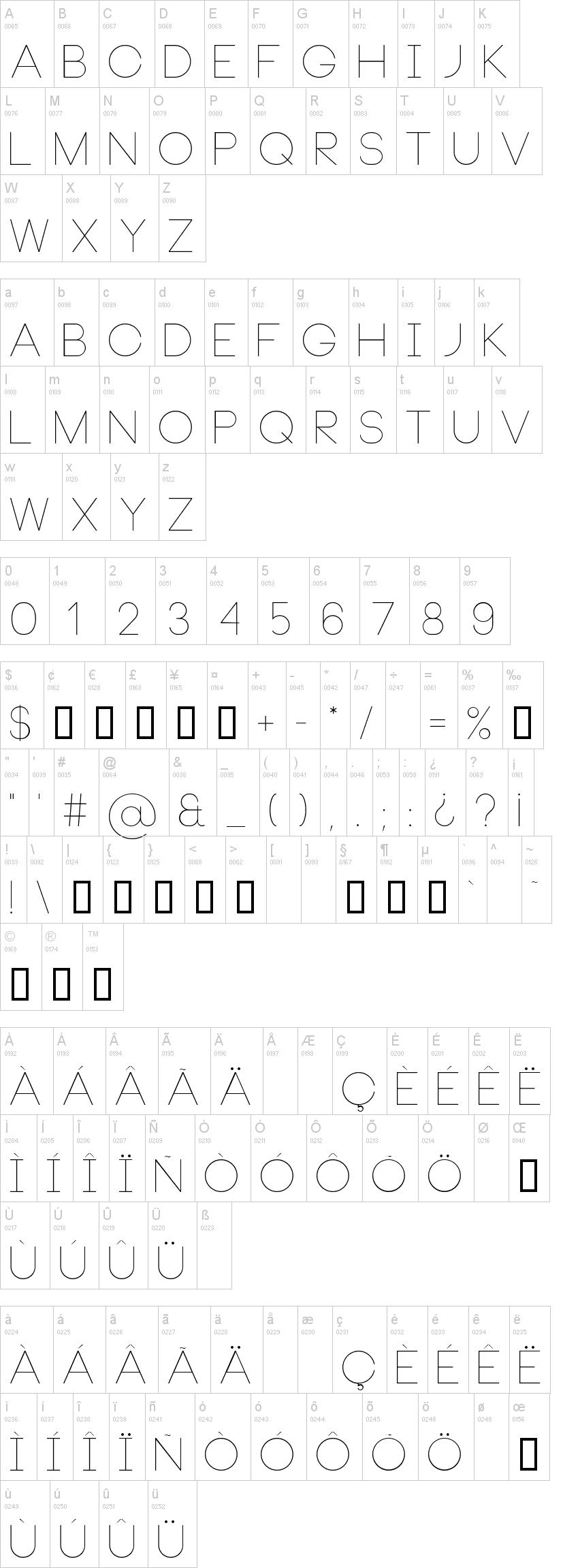 neou thin Fonts Free Download - OnlineWebFonts.COM