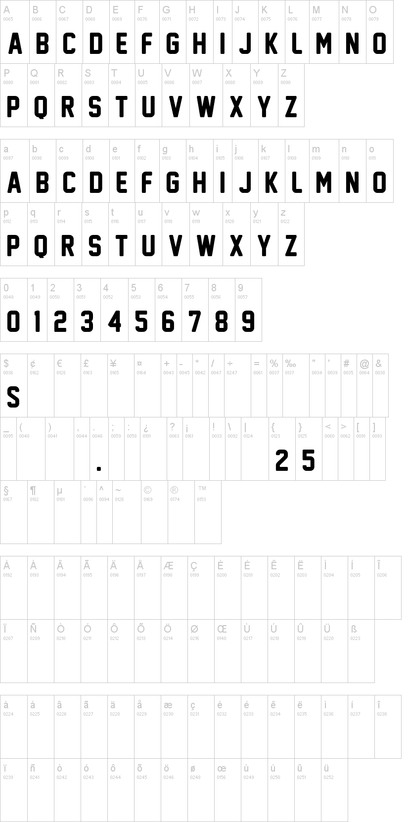 new athletic m54-normal font