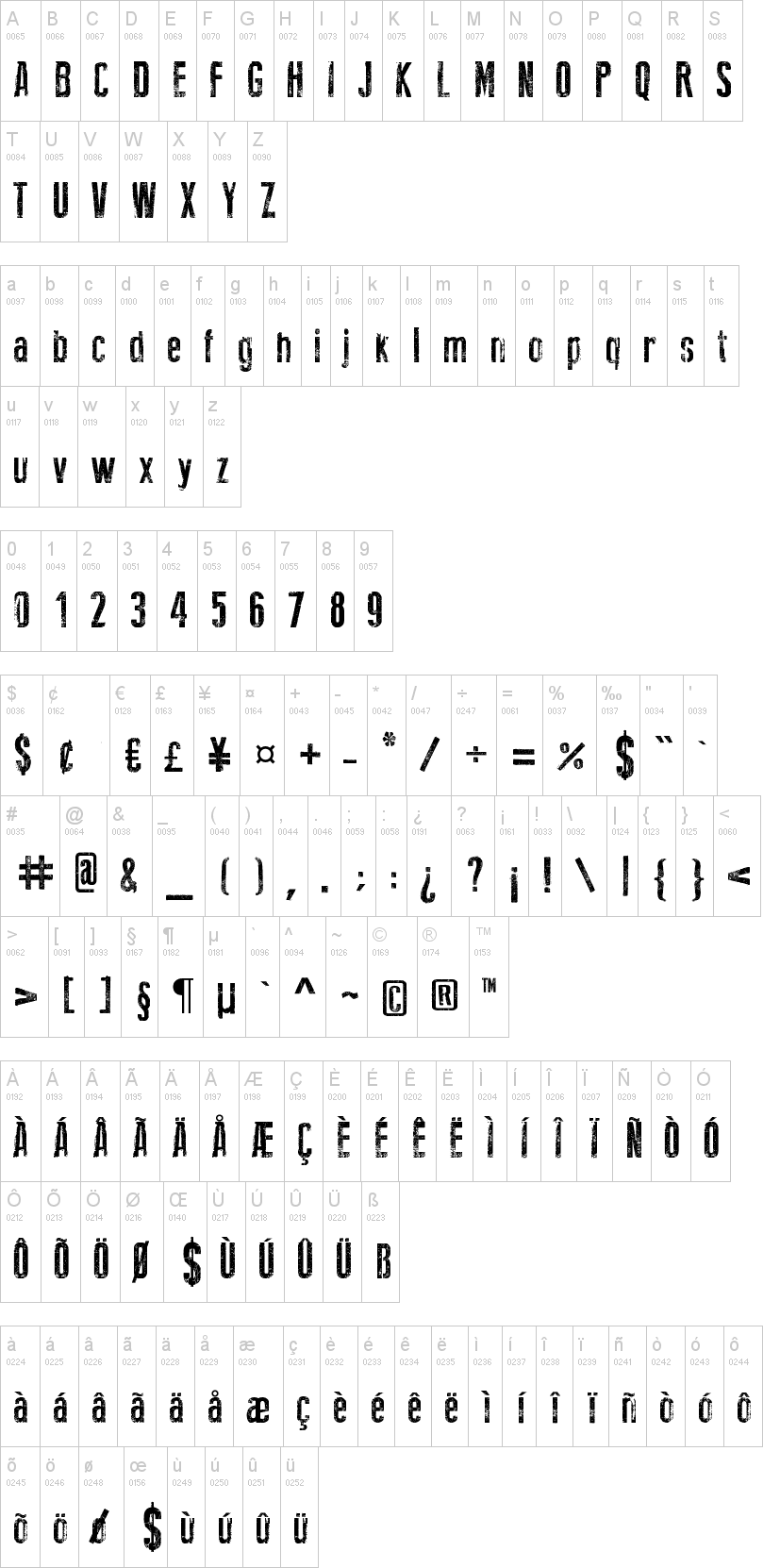 New Press Eroded Font | dafont com