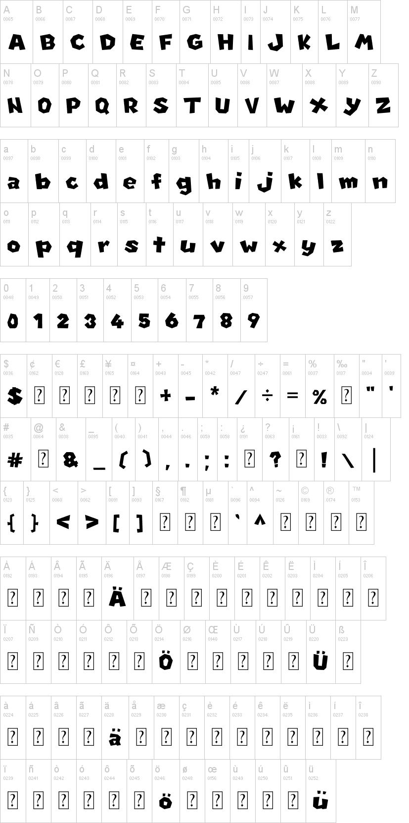 New Super Mario Font U | dafont com