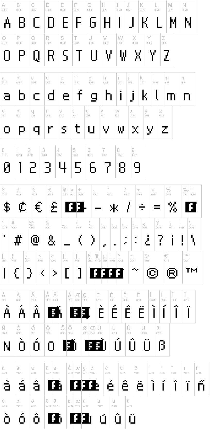 Nintendo ds bios free font in ttf format for free download 4. 92kb.