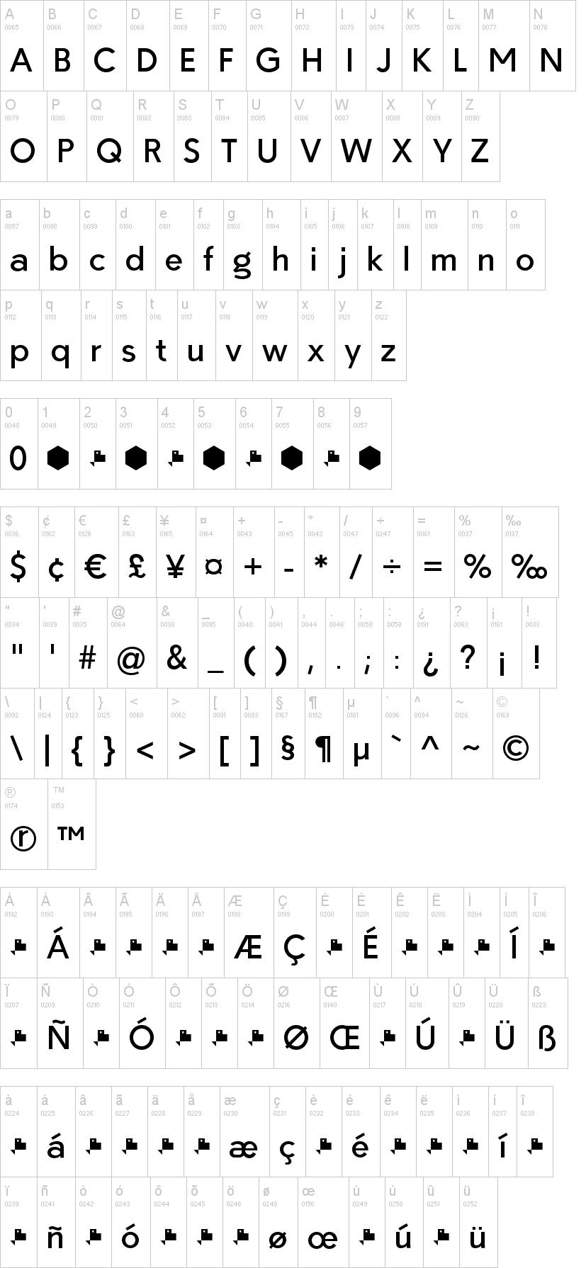 Paloseco Font | dafont com